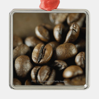 Close-up of coffee beans christmas ornament