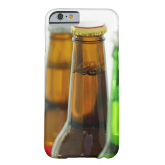 close-up of colored bottles of beer barely there iPhone 6 case