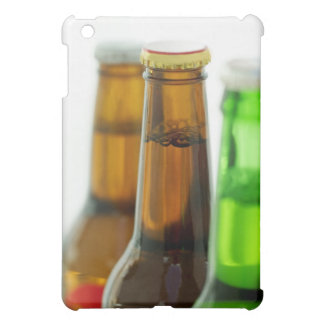 close-up of colored bottles of beer iPad mini cover