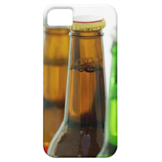 close-up of colored bottles of beer iPhone 5 cases