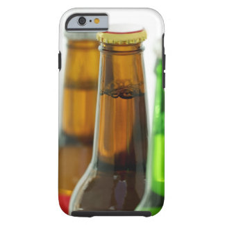 close-up of colored bottles of beer tough iPhone 6 case