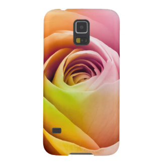 Close up of Colorful Rose Petals Galaxy S5 Cases