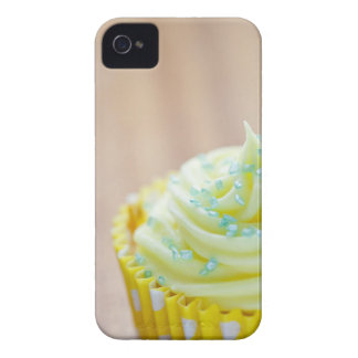 Close up of cup cake showing decoration iPhone 4 Case-Mate cases