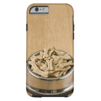 Close-up of dog biscuits in a dog bowl tough iPhone 6 case