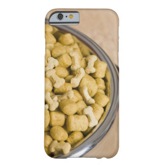 Close-up of dog food in a dog bowl barely there iPhone 6 case