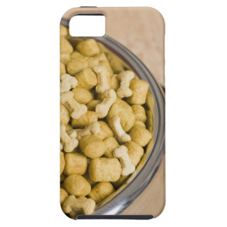 Close-up of dog food in a dog bowl iPhone 5 case