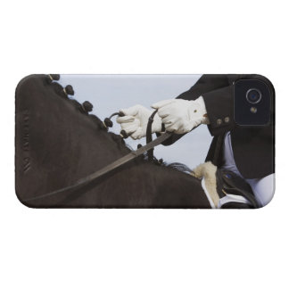 close-up of dressage horse with rider Case-Mate iPhone 4 cases