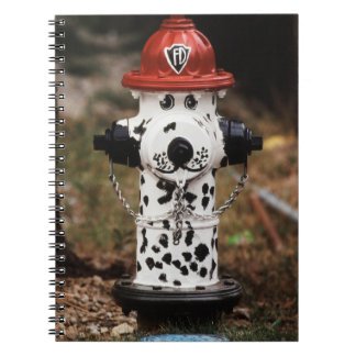 Close-Up of Fire Hydrant Spiral Notebook