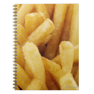 Close-up of French fries Notebooks
