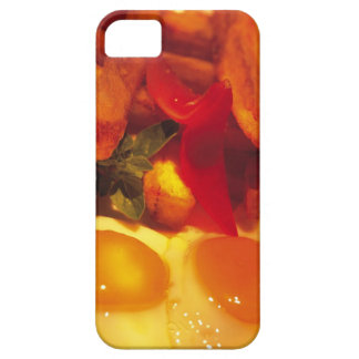 close-up of fried eggs with french fries iPhone 5 covers