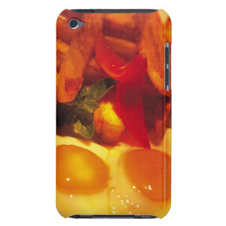 close-up of fried eggs with french fries iPod Case-Mate case