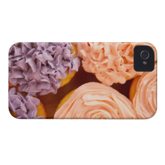 Close-up of frosted cupcakes iPhone 4 case