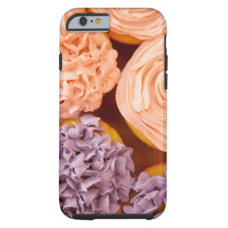 Close-up of frosted cupcakes tough iPhone 6 case