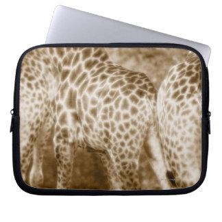 Close-Up of Giraffes Kruger National Park South Laptop Sleeve