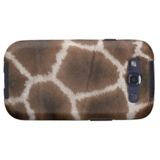 Close up of Giraffes Skin Galaxy SIII Case