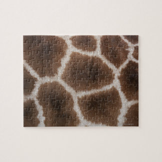 Close up of Giraffes Skin Jigsaw Puzzle