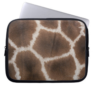 Close up of Giraffes Skin Laptop Sleeve