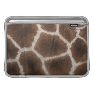 Close up of Giraffes Skin MacBook Sleeve