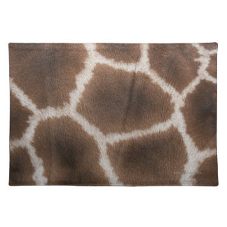Close up of Giraffes Skin Placemat