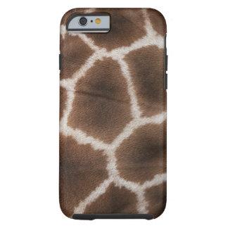 Close up of Giraffes Skin Tough iPhone 6 Case