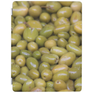 Close Up Of Green Olives iPad Cover