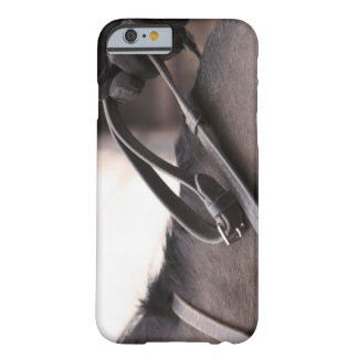 close-up of hand holding reins of horse barely there iPhone 6 case