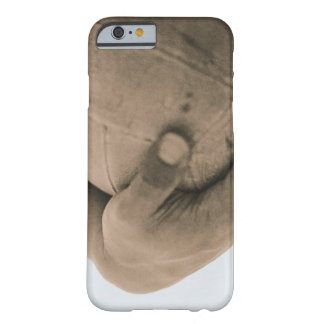 Close-Up of Hand with Volleyball Barely There iPhone 6 Case