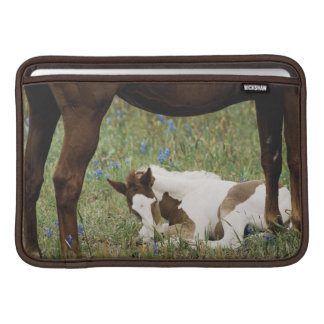 Close-up of Horse and Baby Colt Sleeve For MacBook Air