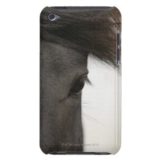 Close-up of horse eye and hair iPod Case-Mate case