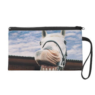 Close-up of Horse with Mouth Open Wristlet
