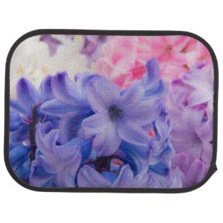 Close-up of Hyacinth plant Car Mat