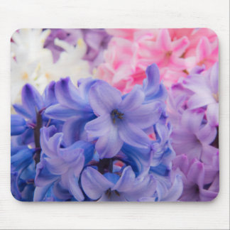 Close-up of Hyacinth plant Mouse Mat