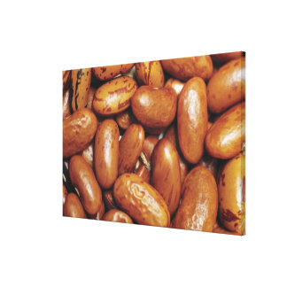 Close-up of kidney beans canvas print