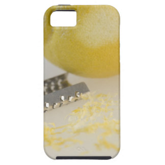 Close-up of lemon and grater case for the iPhone 5