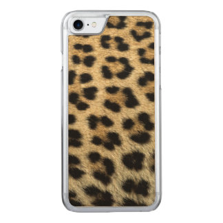 Close up of Leopard spots, Africa Carved iPhone 7 Case