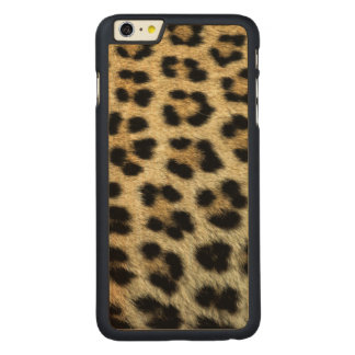 Close up of Leopard spots, Africa Carved® Maple iPhone 6 Plus Case
