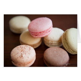 Close up of Macaroons Card