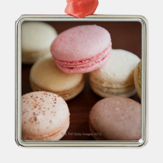 Close up of Macaroons Christmas Ornament