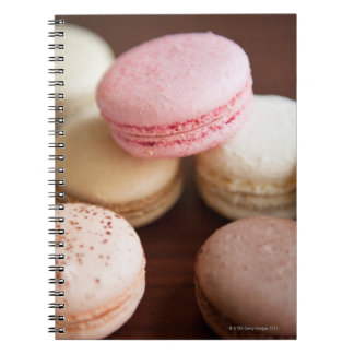 Close up of Macaroons Notebooks