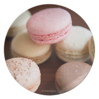 Close up of Macaroons Plate