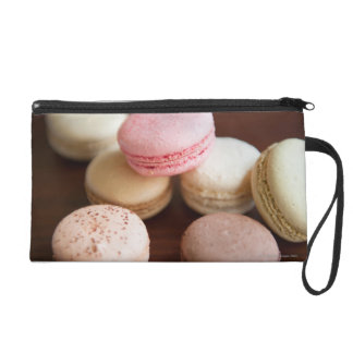 Close up of Macaroons Wristlet Clutches
