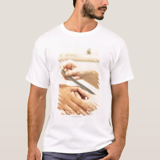 Close up of manicure T-Shirt
