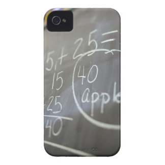 Close up of math problem on the chalkboard of an Case-Mate iPhone 4 case
