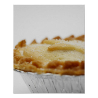 Close-up of mince pie poster