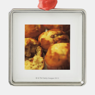 close-up of muffins (blurred) christmas ornament