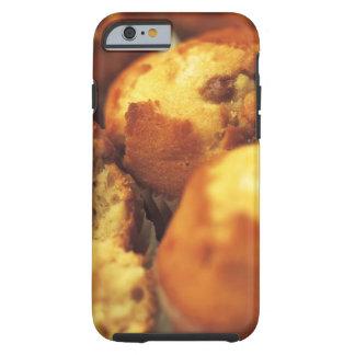 close-up of muffins (blurred) tough iPhone 6 case