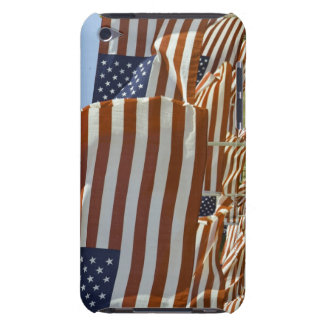 Close-Up of Multiple U.S. Flags iPod Touch Case