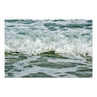 Close-up of Ocean Waves Photo Print