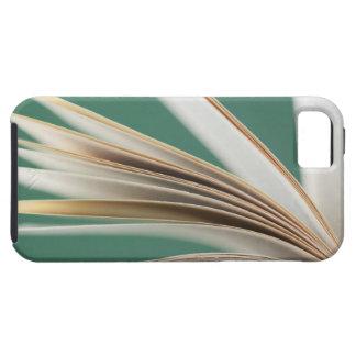 Close-up of open book, studio shot iPhone 5 case