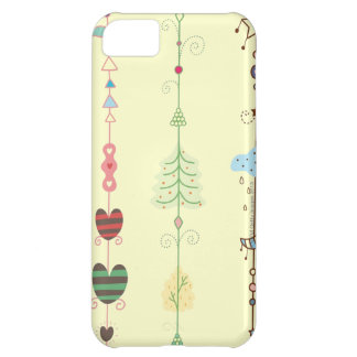 Close-up of ornaments iPhone 5C case